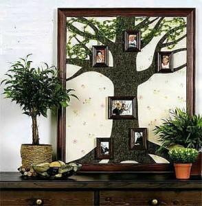 Семейное дерево на 5 лет свадьбы