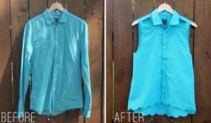 вариат как обновить гардероб из мужских рубашек