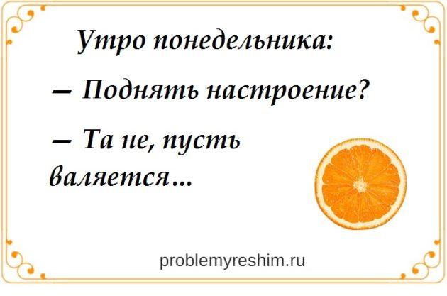 утро понедельника юмор