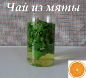 Как заварить чай из мяты фото