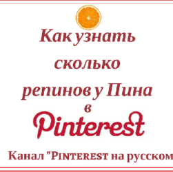 Как узнать количество репинов у Пина: инструкция для Пиннера
